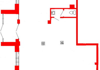 План помещения 1001 Труда 50 1 секция