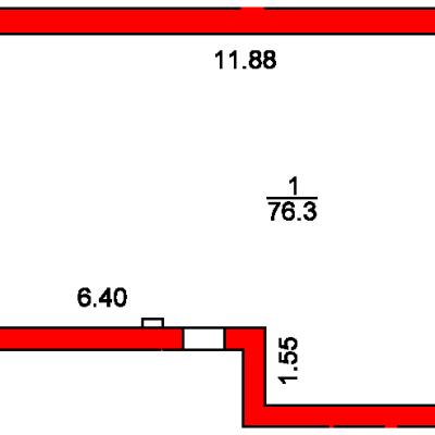 План помещения 1002 Пароменская 8а