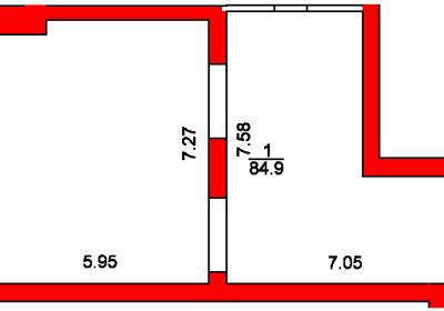 План помещения 1003 Пароменская 8а