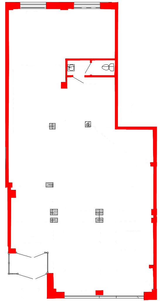 План помещения 1003 Труда 50 1 секция