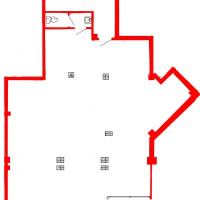 План помещения 1004 Труда 50 1 секция