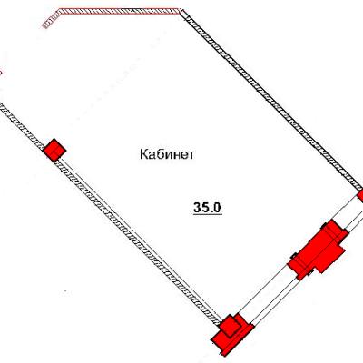 План помещения 1005 Труда 50а