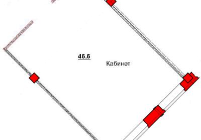 План помещения 1006 Труда 50а