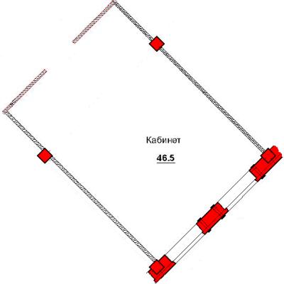 План помещения 1007 Труда 50а