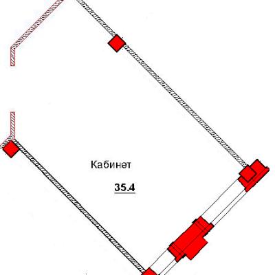 План помещения 1008 Труда 50а