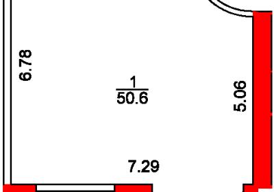 План помещения 1013 Пароменская 8а