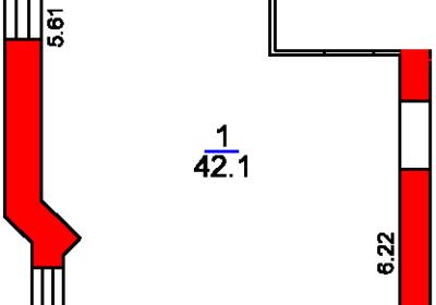 План помещения 1014.1 Рижский 5а