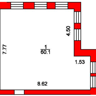 План помещения 1017 Пароменская 8а