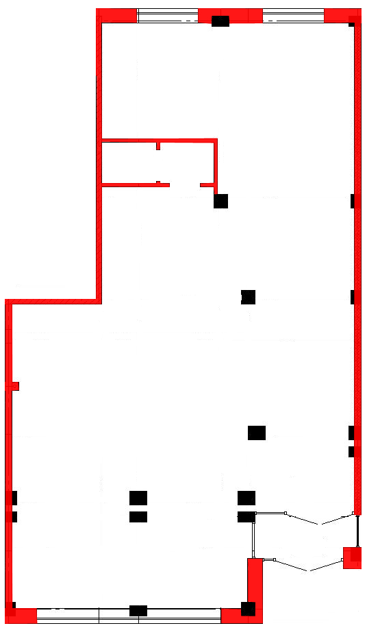 План помещения 1018 Труда 50 4 секция