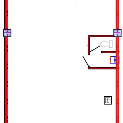 План помещения 1003 Коммунальная 15б