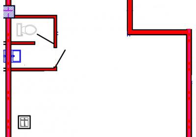 План помещения 1004 Коммунальная 15б