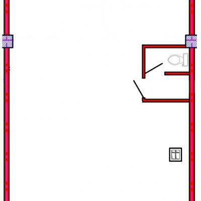 План помещения 1007 Коммунальная 15б