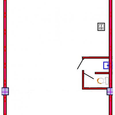 План помещения 1010 Коммунальная 15б