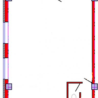 План помещения 1015 Коммунальная 15б